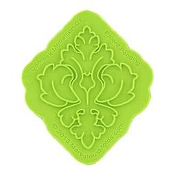 View the Damask Medallion silicone sugarcraft icing Onlay mould online at Cake Stuff