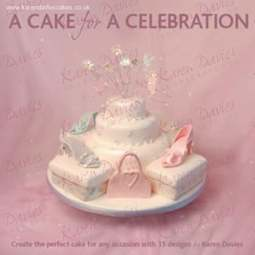 View the *CLEARANCE* A Cake For A Celebration - Karen Davies online at Cake Stuff