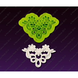 View the MARTHA LACE silicone icing mould set online at Cake Stuff