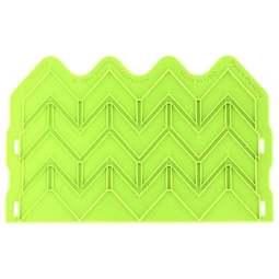 View the SAVVY Chevron Onlay silicone sugarcraft icing mould online at Cake Stuff
