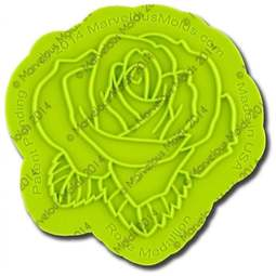 View the Rose silicone sugarcraft icing Onlay mould online at Cake Stuff