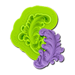View the FEATHER CREST silicone icing mould online at Cake Stuff