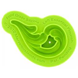 View the LEFT Essential Flourish silicone icing mould online at Cake Stuff