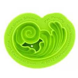 View the RIGHT Essential Swirl silicone icing mould online at Cake Stuff