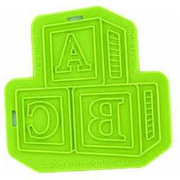 View the ABC BLOCKS silicone icing mould online at Cake Stuff