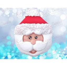 View the SANTA Cupcake Top by Alice - silicone icing mould online at Cake Stuff