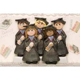 View the Graduation silicone icing sugarcraft mould online at Cake Stuff