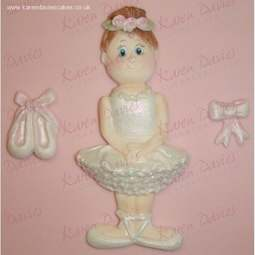 "View the 4"" Ballerina silicone icing sugarcraft mould online at Cake Stuff"