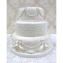 View the Pearl Band border silicone icing mould online at Cake Stuff