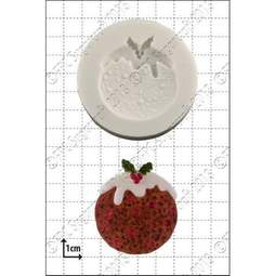 View the Xmas Pudding silicone icing mould online at Cake Stuff
