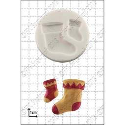 View the Xmas Stockings silicone icing mould online at Cake Stuff