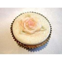 View the Single Rose cupcake top silicone icing mould online at Cake Stuff