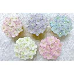 View the Hydrangea cupcake top silicone icing mould online at Cake Stuff