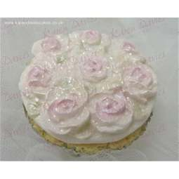 View the Piped Roses cupcake top silicone icing mould online at Cake Stuff