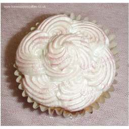 View the Piped Swirls cupcake top silicone icing mould online at Cake Stuff