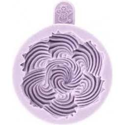 View the Piped Swirls / Viennese Whirls cupcake top silicone icing mould online at Cake Stuff