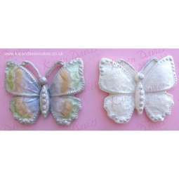 View the Large BUTTERFLY BROOCH silicone icing mould online at Cake Stuff