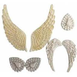 View the ANGEL WINGS silicone icing mould online at Cake Stuff
