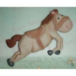 View the 11cm HORSE / Pony silicone icing mould online at Cake Stuff