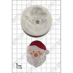 View the Father Xmas / Santa silicone icing mould online at Cake Stuff