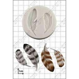 View the Feathers silicone icing mould online at Cake Stuff