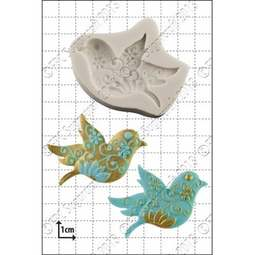 View the Floral Bird silicone icing mould online at Cake Stuff