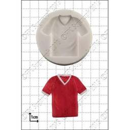 View the Football / T Shirt silicone icing mould online at Cake Stuff