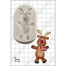 View the Dancing Rudolph silicone icing mould online at Cake Stuff