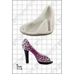 View the Fashion Shoe 3 silicone icing mould online at Cake Stuff