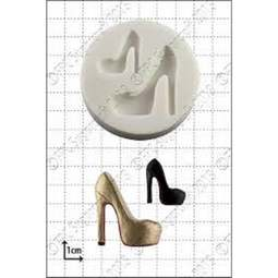 View the Fashion Shoe 4 silicone icing mould online at Cake Stuff