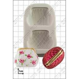 View the 3D Handbags silicone icing mould online at Cake Stuff