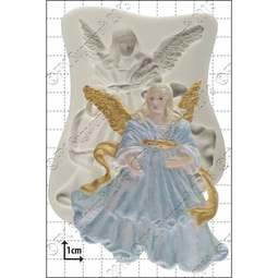 View the Angel silicone icing mould online at Cake Stuff