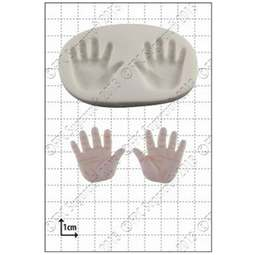 View the Baby Hands silicone icing mould online at Cake Stuff
