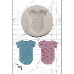 View the Baby Sleep Suit silicone icing mould online at Cake Stuff