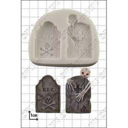 View the Tombstones silicone icing mould online at Cake Stuff