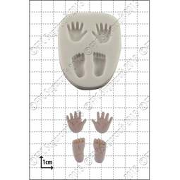 View the Tiny Hands & Feet silicone icing mould online at Cake Stuff