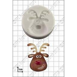 View the Reindeer Head silicone icing mould online at Cake Stuff