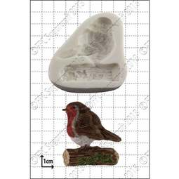 View the Robin silicone icing mould online at Cake Stuff