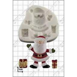 View the Santa & Gifts silicone icing mould set online at Cake Stuff