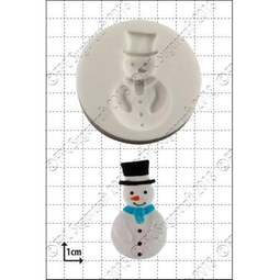 View the Snowman silicone icing mould online at Cake Stuff