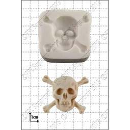 View the Skull & Crossbones silicone icing mould online at Cake Stuff