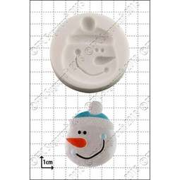 View the Snowman Face silicone icing mould online at Cake Stuff