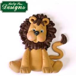 View the Sugar Buttons LION silicone mould online at Cake Stuff
