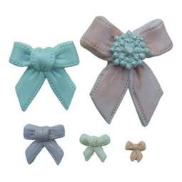 View the BOWS silicone icing sugarcraft mould online at Cake Stuff