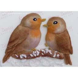 View the LOVE BIRDS by Alice silicone icing mould online at Cake Stuff