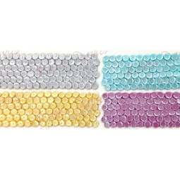 View the LARGE SEQUINS Border silicone icing mould online at Cake Stuff