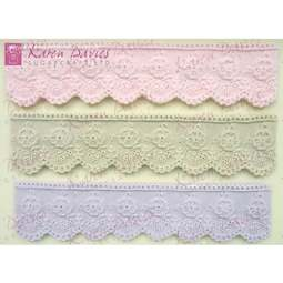 View the Emily Lace silicone icing sugarcraft mould online at Cake Stuff