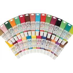 View the FULL SET ALL 30 concentrated paste gel 25g icing / food colourings online at Cake Stuff