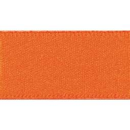 View the ORANGE DELIGHT 15mm x 20m double face satin cake ribbon online at Cake Stuff