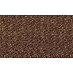 View the DARK BROWN 15mm x 20m double face satin cake ribbon online at Cake Stuff